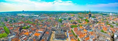 Delft in Nederland stock foto