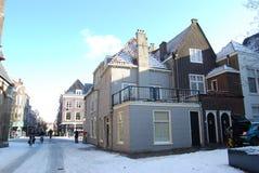 Delft, Nederland - 06 April, 2010: niet geïdentificeerde mensen in royalty-vrije stock fotografie