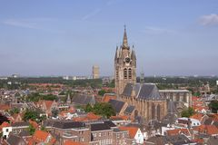 Delft, the Netherlands Stock Photography