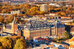 Delft, the Netherlands in the autumn Royalty Free Stock Photo