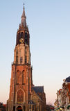 Delft-neue Kirche Stockfotos