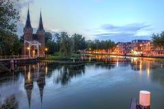 Delft, os Países Baixos Fotografia de Stock