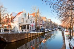 Delft residential district Stock Image