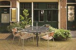 Delft Restaurant Royalty Free Stock Photo