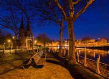 Delft romantica Immagini Stock