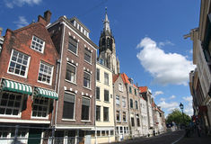 Delft Street Stock Images