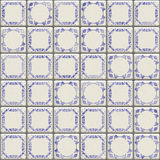 Delft tiles texture Royalty Free Stock Photo