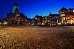 Delft urząd miasta Obrazy Stock