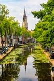 Delft, Zuid-Holland, Nederland stock foto