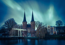 Delftfajansportoospoort Fotografering för Bildbyråer