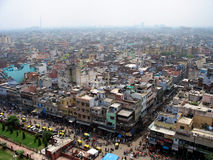Delhi. Panorama of Old Delhi, India Stock Photography