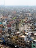 Delhi. Panorama of Old Delhi, India Royalty Free Stock Photo