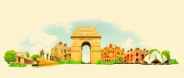 delhi Vector Illustratie