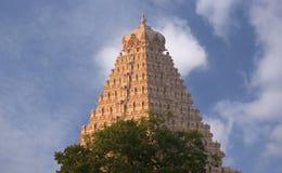 Delhi, composé religieux de temple d'hindouisme Image libre de droits