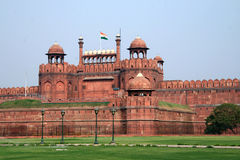 Delhi Fort. Former residence of mughal emperors for 200 years Stock Image