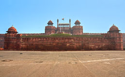 delhi fort indu stara czerwona fotografia royalty free