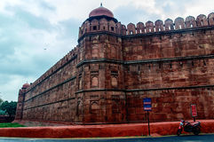 delhi fortu czerwień Zdjęcie Stock