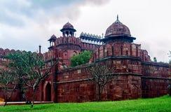 delhi fortu czerwień Zdjęcia Stock