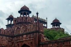 delhi fortu czerwień Fotografia Stock