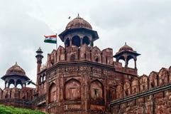 delhi fortu czerwień Zdjęcie Royalty Free