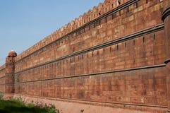 delhi fortu ind stara czerwień Zdjęcie Royalty Free