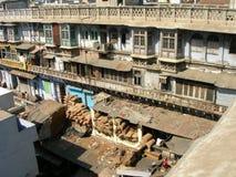 delhi gammala india Arkivfoto
