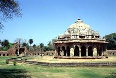 delhi gammalt tempel Royaltyfri Fotografi
