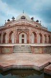 delhi humayunindia s tomb Royaltyfri Fotografi