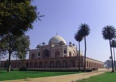 delhi humayunindia tomb Fotografering för Bildbyråer