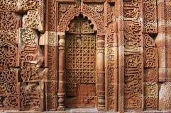 delhi humayunindia tomb Royaltyfri Foto