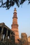 delhi ind minar nowy qutub Zdjęcie Royalty Free