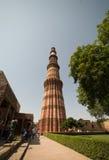 delhi ind minar qutub Obraz Royalty Free