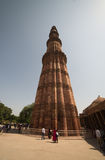 delhi ind minar qutub Zdjęcia Royalty Free