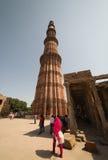delhi ind minar qutub Fotografia Royalty Free