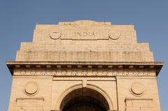 Delhi - India gate Royalty Free Stock Images