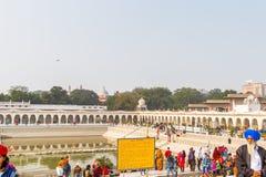 Gurdwara Bangla Sahib Stock Photography