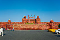 DELHI, INDIA - September 18, 2013: The Red Fort on Sept 18, 2013 Royalty Free Stock Images