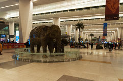Delhi Indira Gandhi International airport Royalty Free Stock Photos