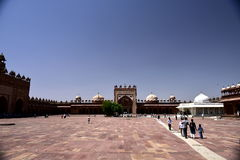 delhi jama masjid Royaltyfria Foton