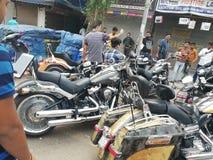 Delhi karolbagh miejsc drogi zaznaczający ludzie obrazy royalty free