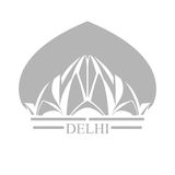 Delhi Lotus Temple Stockbild