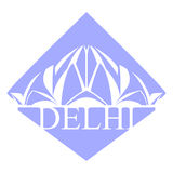 Delhi Lotus Temple 2 Stockbild