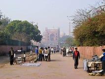 delhi masjid jama Obraz Royalty Free