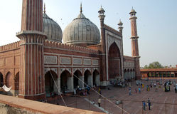 Delhi mosque Royalty Free Stock Photography