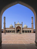 Delhi mosque Stock Images