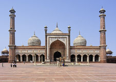 Delhi mosque Royalty Free Stock Images