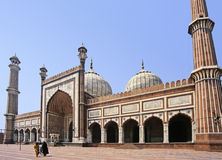 Delhi mosque Royalty Free Stock Photos