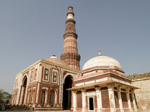 Delhi Qutab Minaret Stock Photos
