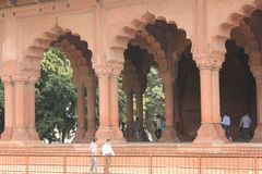 Delhi Red Fort, Architectural detail Royalty Free Stock Photo
