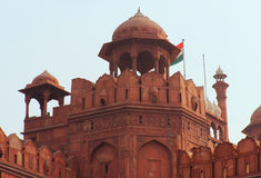 Delhi Red Fort, Tower detail Royalty Free Stock Image